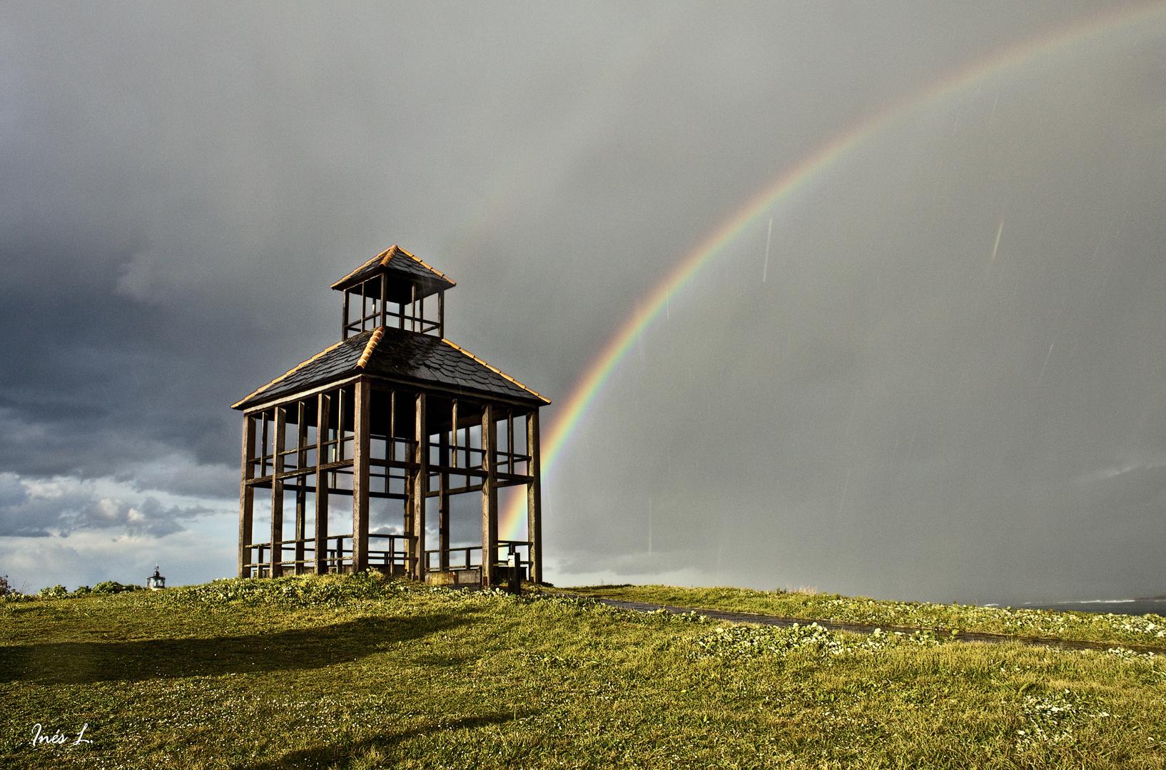 Para ver el arco iris has de soportar la lluvia...