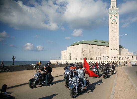 """Parade Harley """"Casablanca"""""""