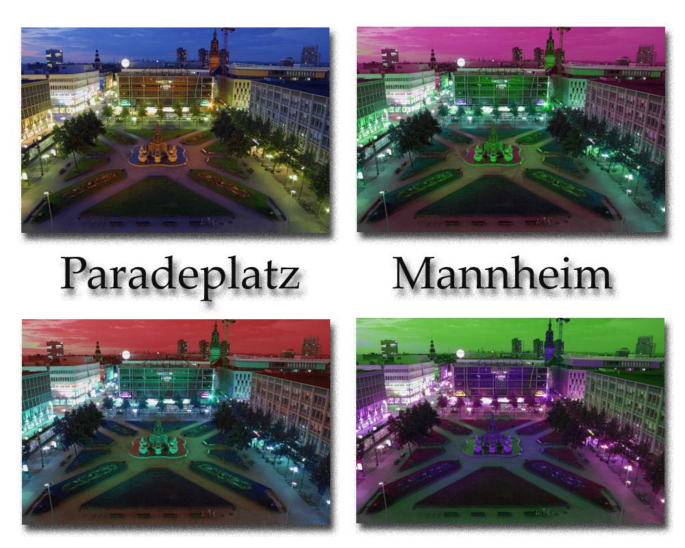 Paradeplatz Mannheim