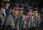Paradesoldaten sorgten für ein sicheres Gefühl