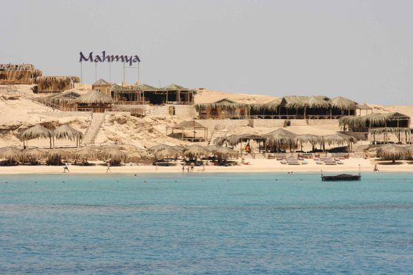 Paradies Insel, Big Giftun,oder auch Mahmya Insel