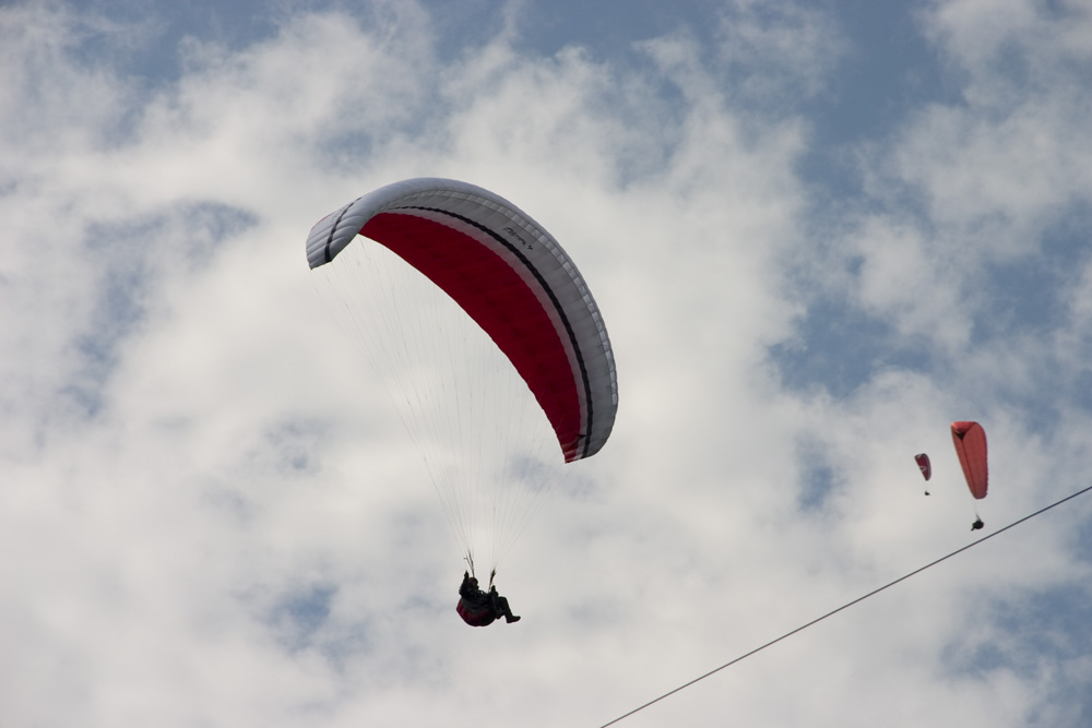 Paraglider at Swiss Sky