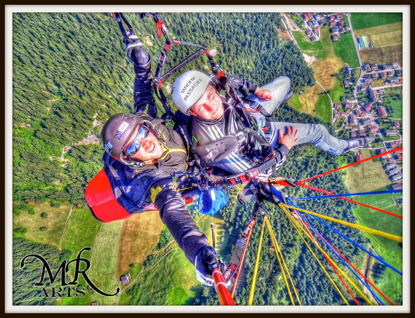 Paragliding im Zillertal 2013