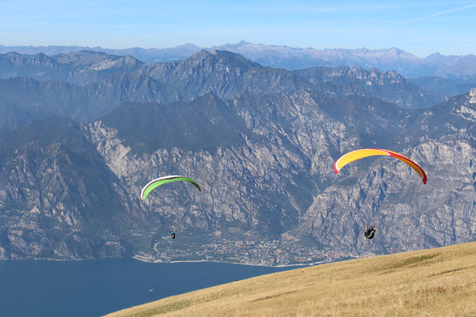 Paragliding vom Monte Baldo