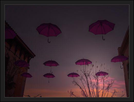 paraigües voladors