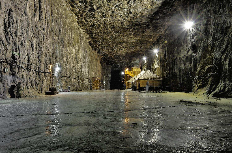 Parajd - the Salt mine in the middle of Erdely/Siebenburgen