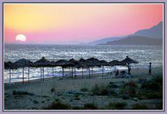 paralia vrachou (der strand von vrachos)