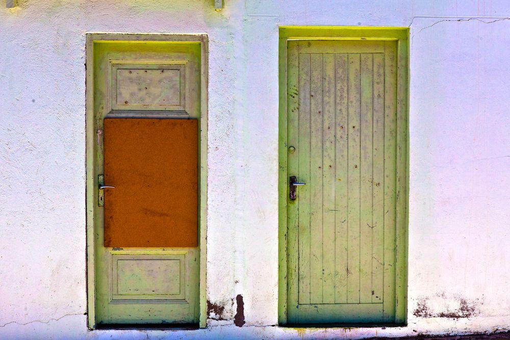 """""""parallel doors"""", luederitz, namibia"""