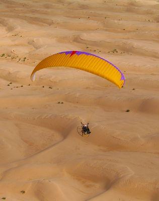 Paramoteur dans le sud tunisien II