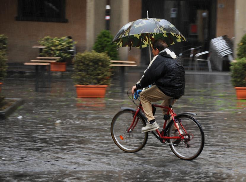 Parapluie camouflée