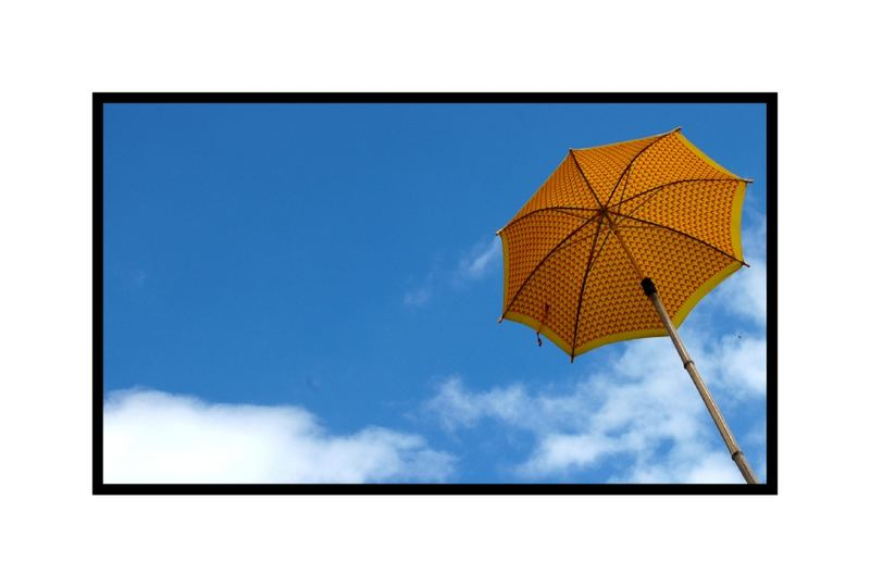 Parapluie jaune