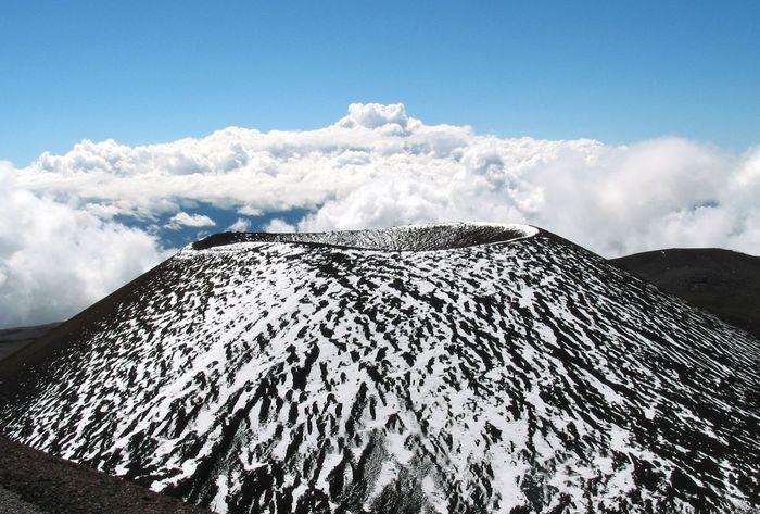 Parasitärkrater des Mauna Kea (Hawaii)