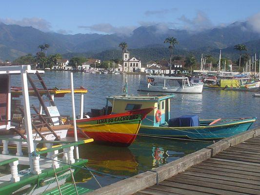Paraty Hafen