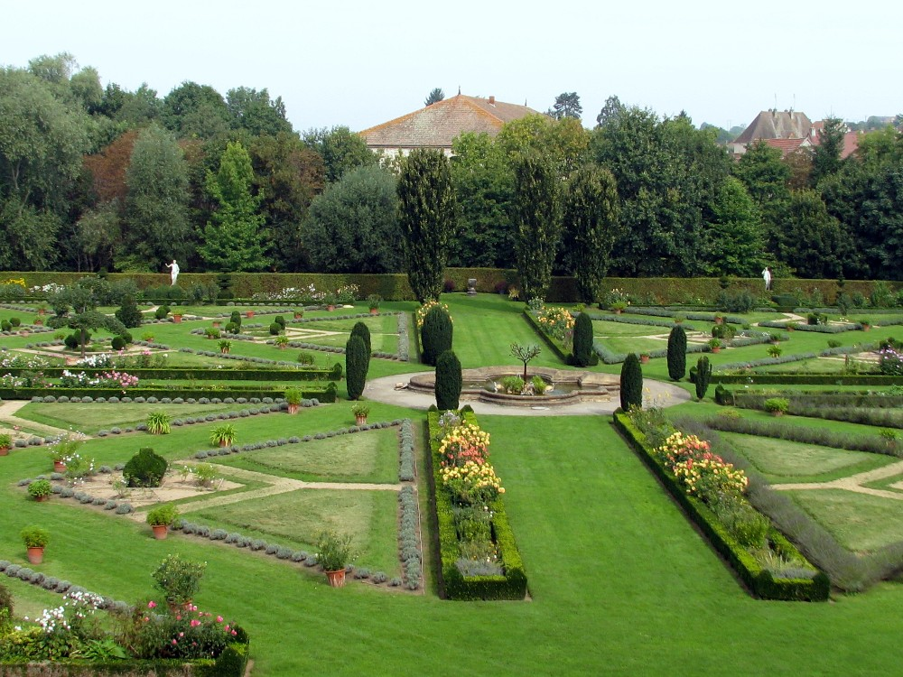 parc à la française