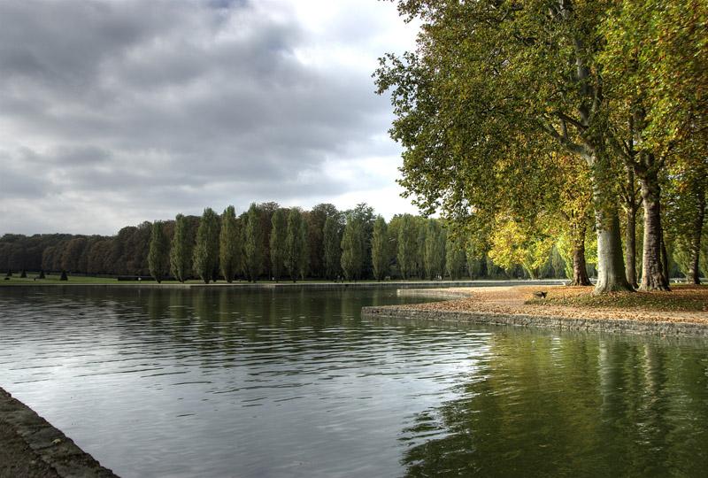Parc de Sceaux - vue du canal