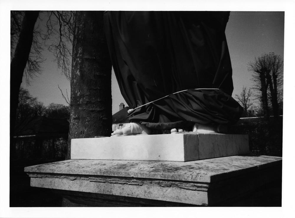 Parc de Versailles - pieds nus