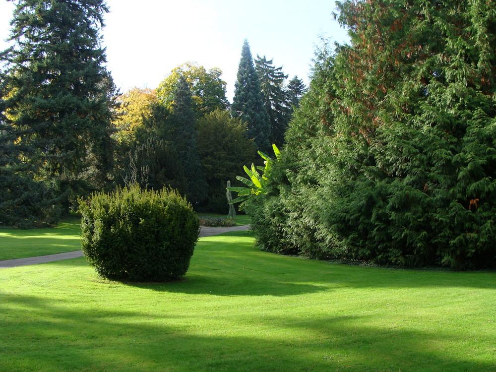 Parc du jardin zoologique de Mulhouse