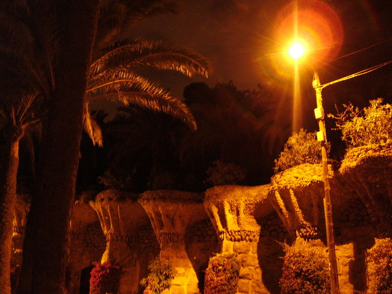 Parc Güell by Night