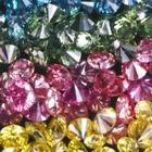 Parcelle diamant de couleur