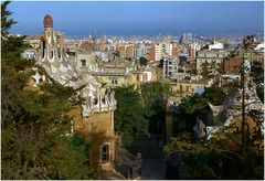 Parco Güell di Gaudí.....Barcelona.
