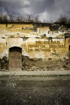 Paret antigua en Antigua