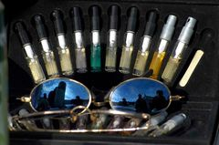 Parfümset mit Sonnenbrille