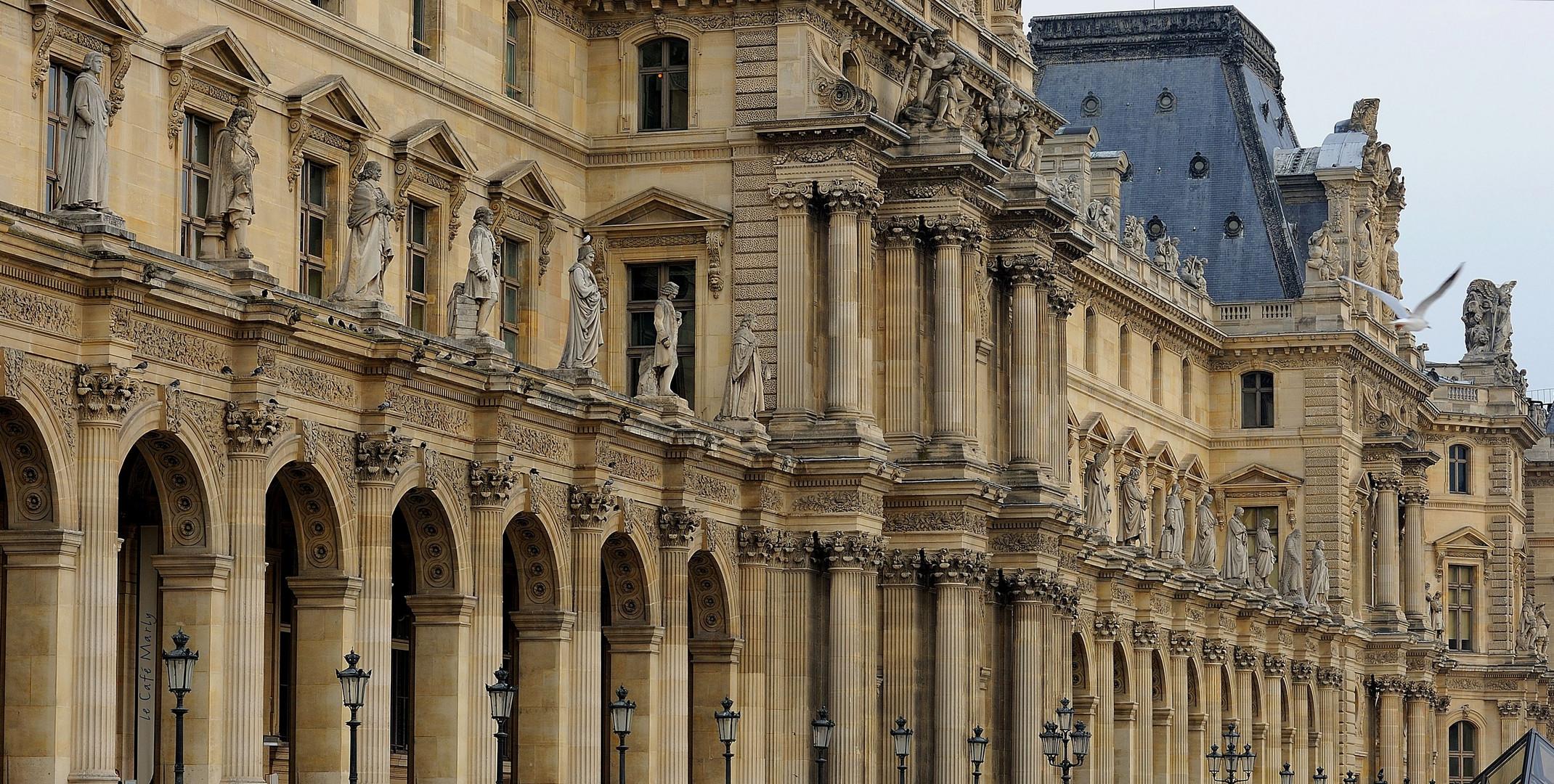 Parigi : Il Louvre