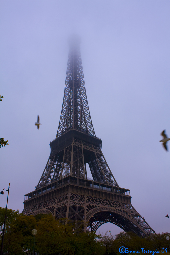 Parigi la Torre Eiffel