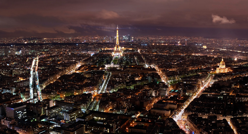 Paris á nuit