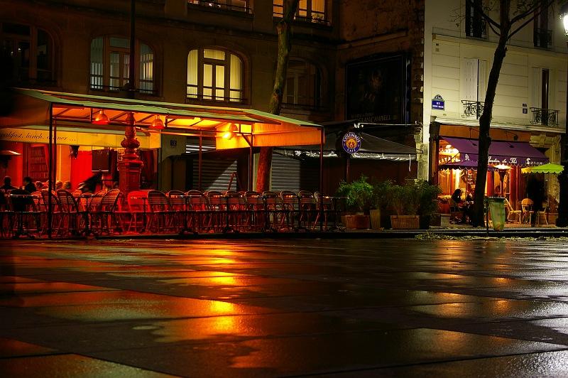 Paris : Abendstimmung