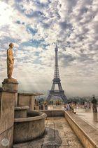 Paris am Morgen