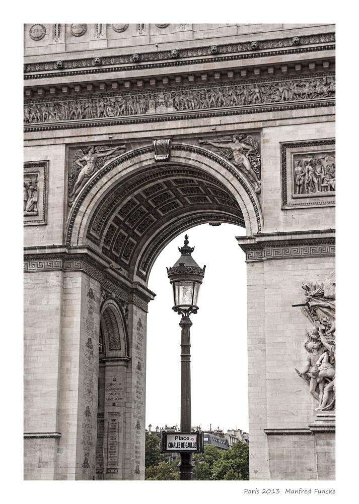 Paris Arc de Triomphe 2