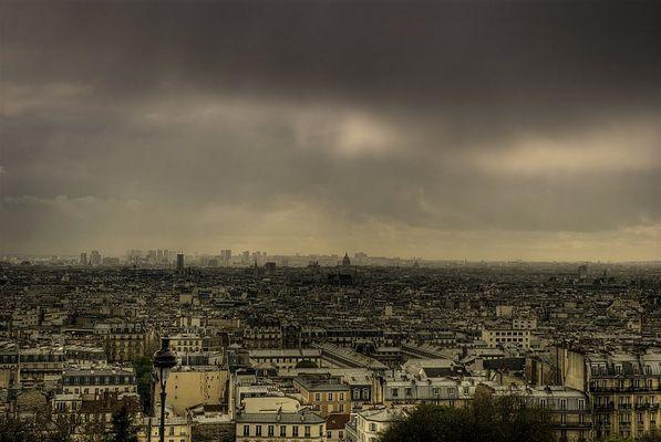 Paris avant l'orage