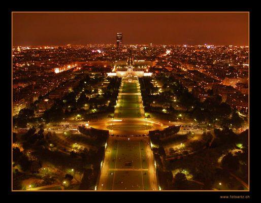 Paris bei Nacht - Paris at night - Paris dans la nuit