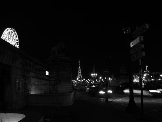 Paris, by night...
