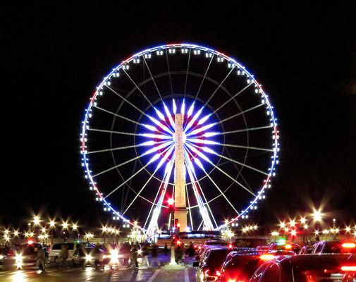 Paris by night, Grande Roue Concorde