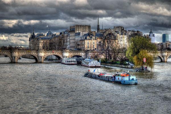 Paris centre