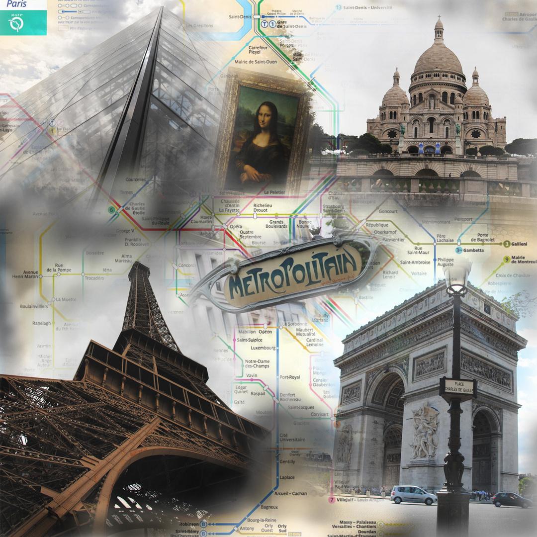 Paris (Collage)