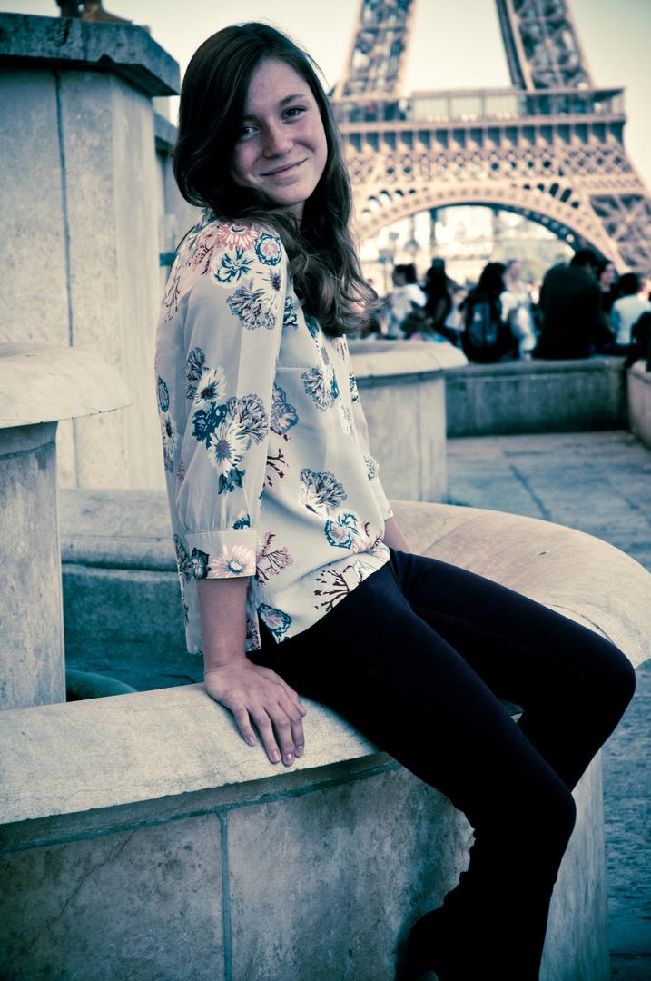 Paris, die Stadt der Liebe