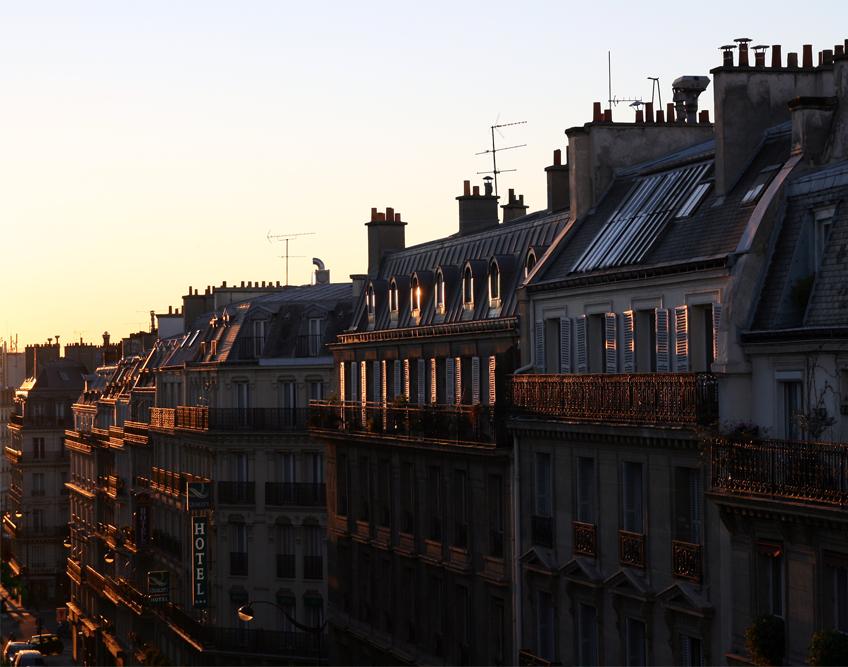 Paris erwacht - bonjour Paris