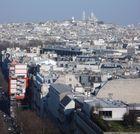 Paris- Foto q tirei do alto do Arco do Triunfo2