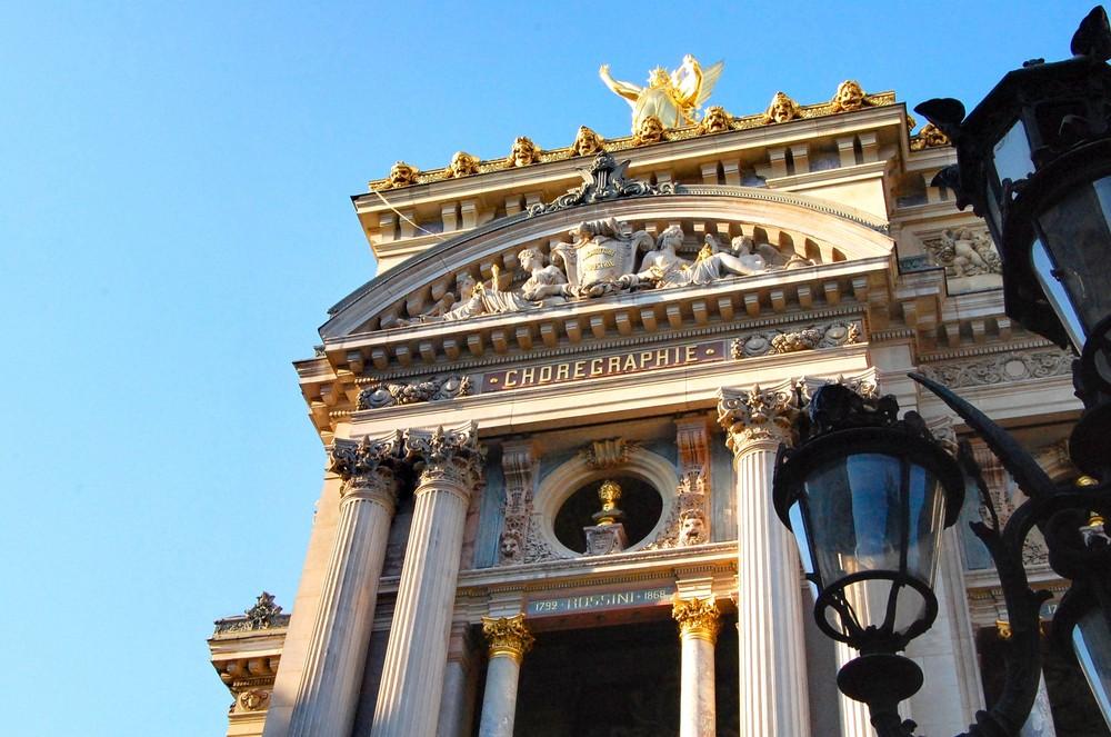 Paris Frankreich in HDR