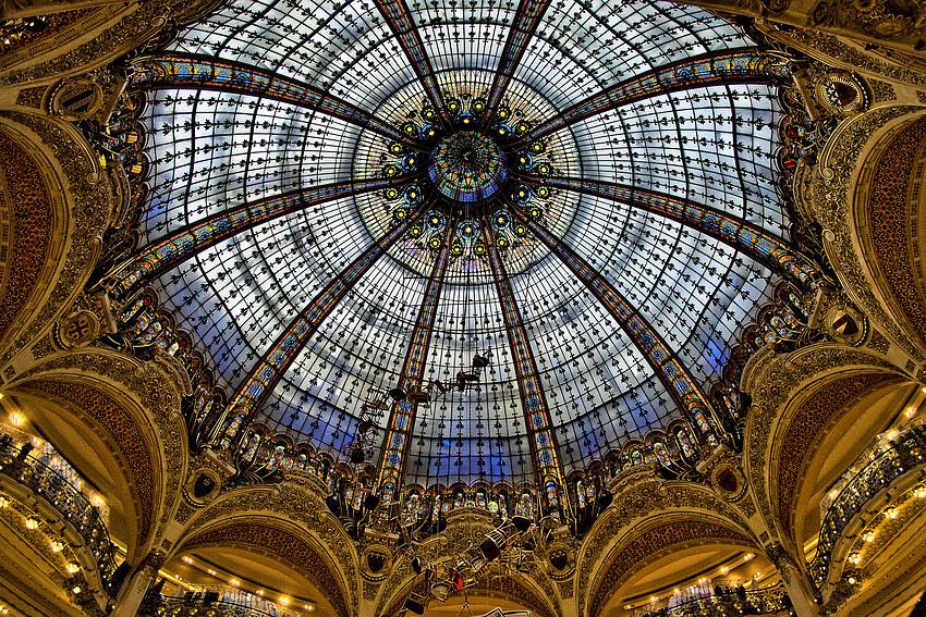 Paris: Galeries Lafayette
