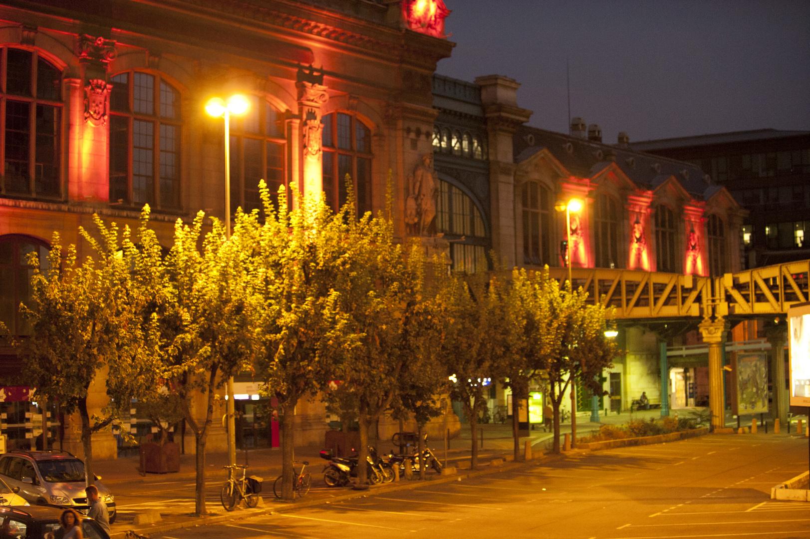 Paris gare d'austerlitz, lever du soleil 3