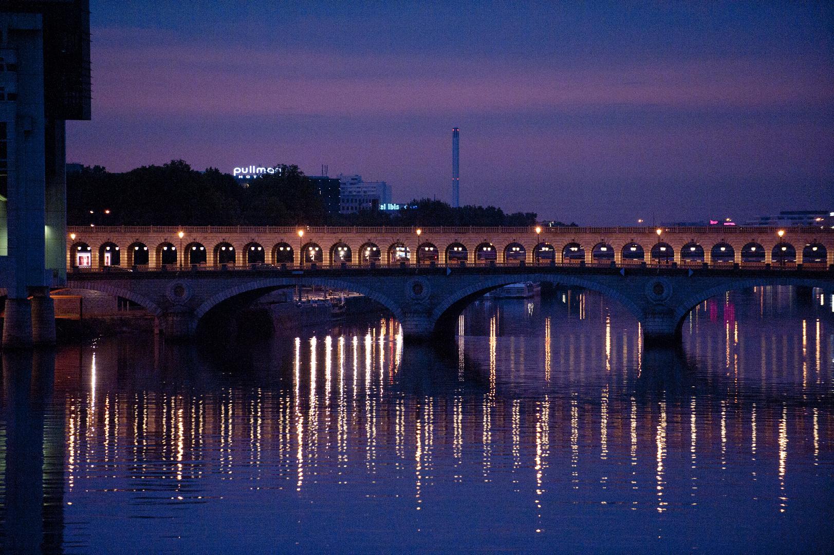 Paris gare d'austerlitz, lever du soleil 4