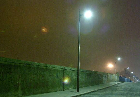 """PARIS """"gare du nord la nuit"""""""