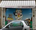 Paris Geschäft Malerei