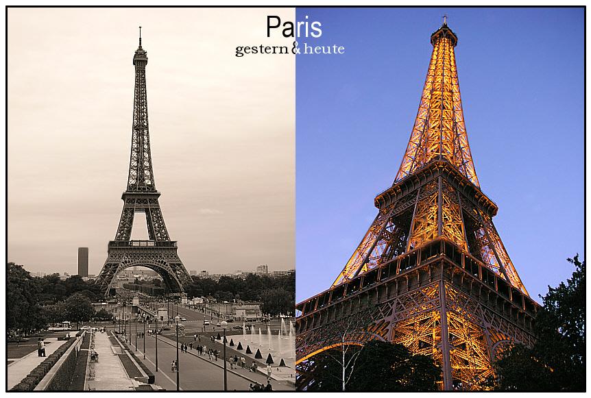 Paris ...gestern & heute