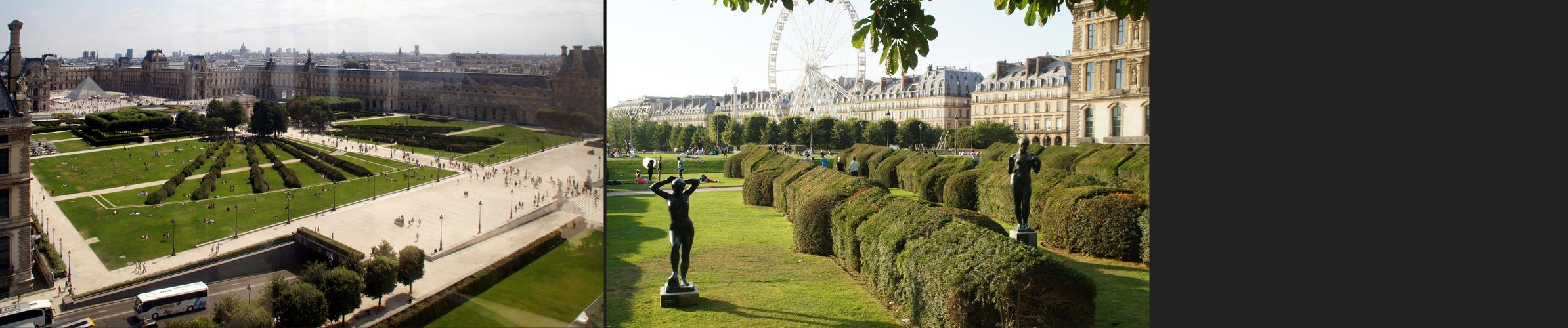 Paris: Hin- und Rückblick