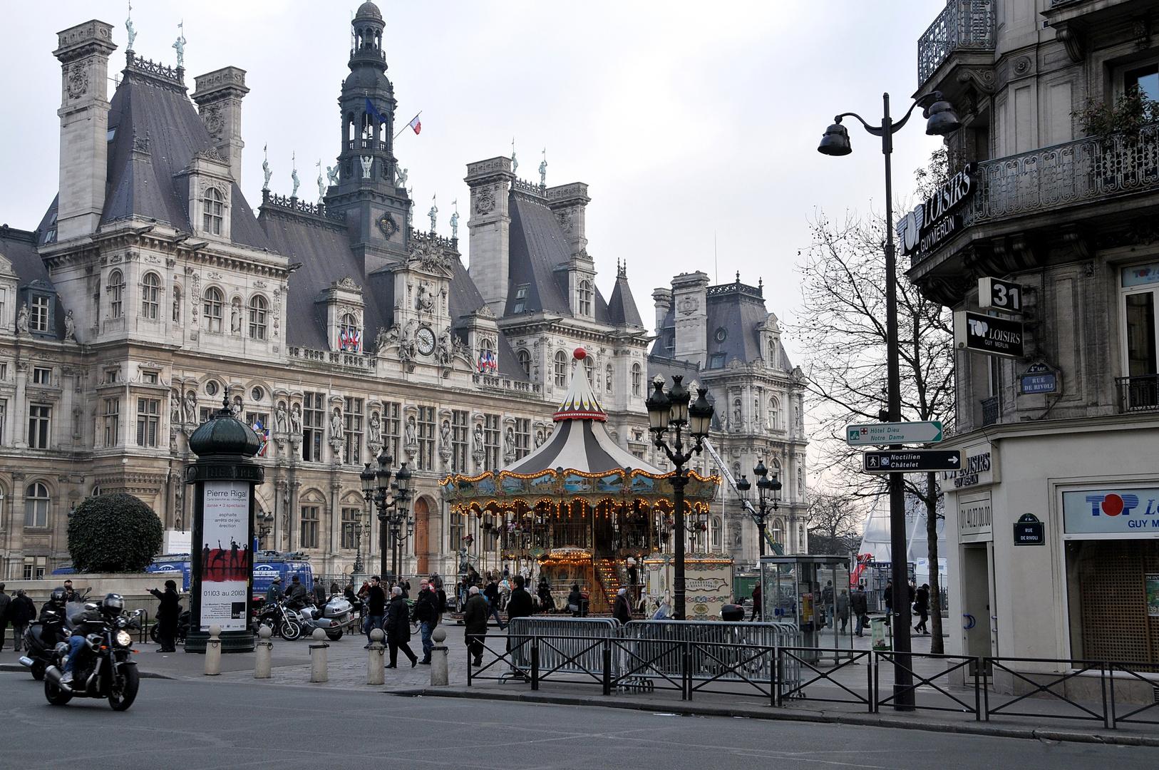 Paris Hotel de ville Mars 2011